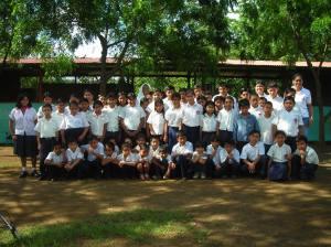 escuela sagrado corazon masaya