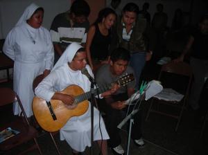 JOVENES DE LA PARROQUIA SANTA RITA